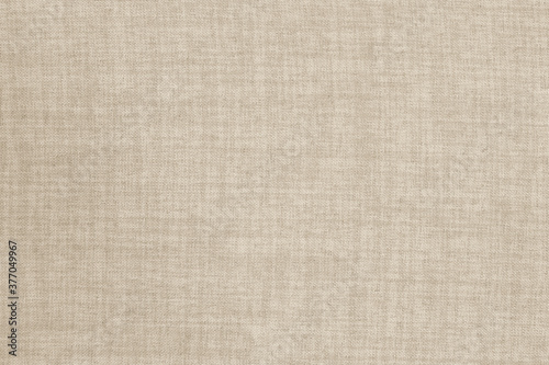 Brown linen fabric cloth texture background, seamless pattern of natural textile Fotobehang