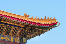 Architecture Of Chinese Temple...