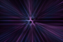 Blue Purple Beam Or Speed Line...