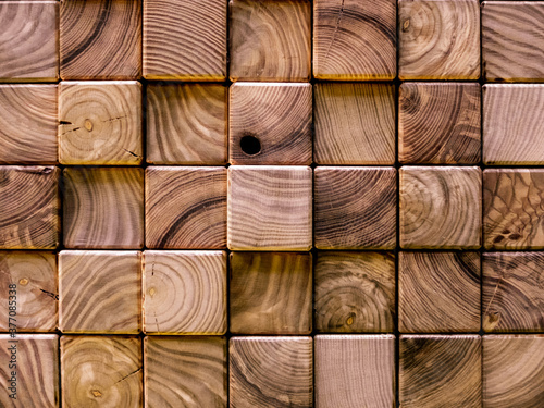 Fototapety brązowe  creative-idea-for-the-background-wood-plank-slices-close-up