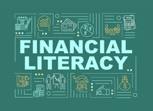 Financial Literacy Word Concep...