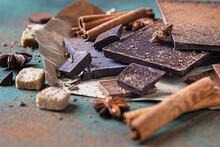 Dark And Milk Chocolate Chunks...