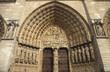 Notre Dame sculpture Paris France