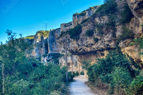 Obraz na plátně Desfiladero en la montaña