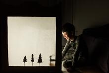 Winter Wonderland Shadow Puppets