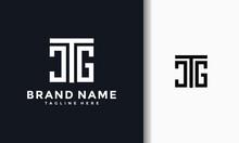 Monogram Letter CTG Logo