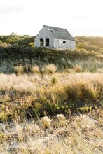 Little Wooden Shack In The Sand Dunes