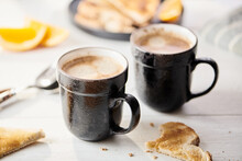 Coffee And Toast Breakfast