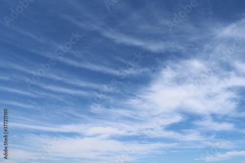 Cielo e nuvole in autunno Tapéta, Fotótapéta