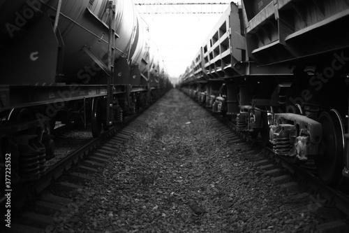 train Fotobehang