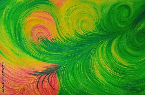 Risos de flora Canvas Print
