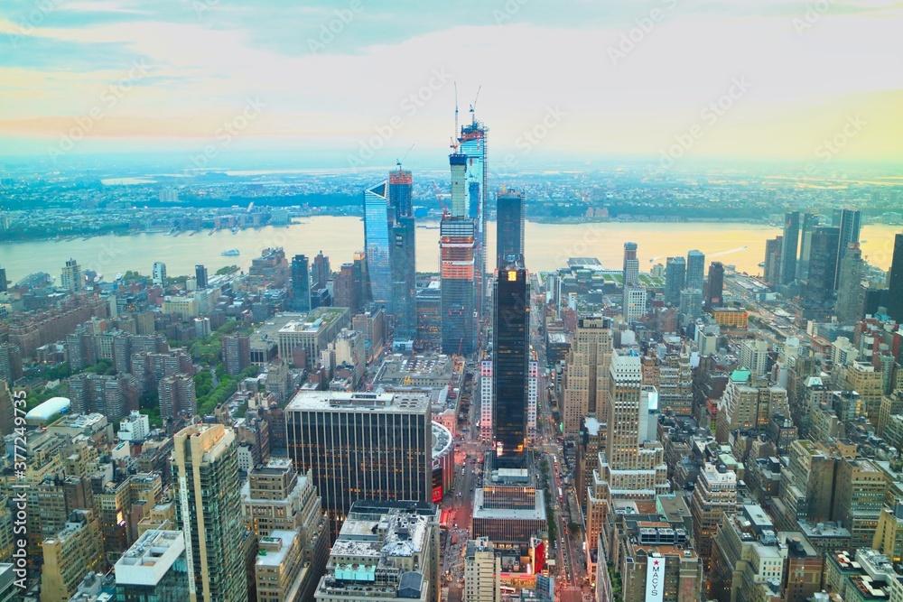 Fototapeta Cityscape in New York USA