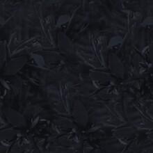 Dark Moody Almost Black Leaf S...