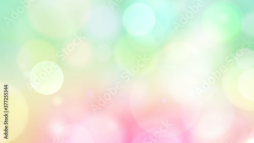particle circle soft glitter background