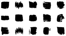 Vector Grunge Brush, Spots. Ab...