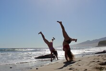 Cartwheeling Girls