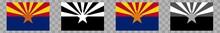 Arizona Flag Colors Black | St...