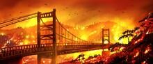 Bidwell Bar Bridge, California...