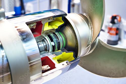 Photo Submersible compact mixer for liquids