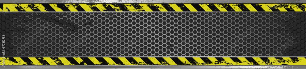 Fototapeta long grunge banner