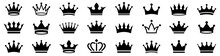 Crown Icons Set. Crown Symbol ...