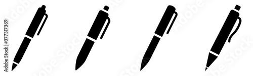 Cuadros en Lienzo Pen simple icon set. Pen sign collection. Vector illustration