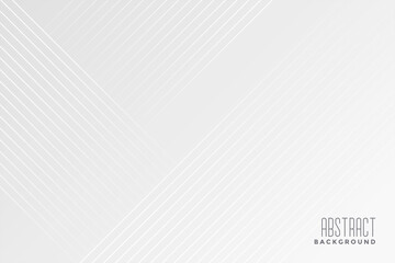 white background with diagonal lines design