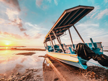 Indonesian Fishing Boat On The...