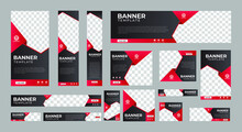 Set Of Corporate Web Banners O...