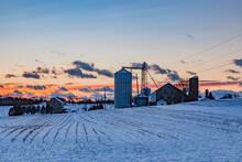 Winter Pennsylvania Farm