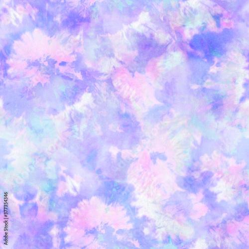 Fotografia Lilac And Pink Tie Dye Print