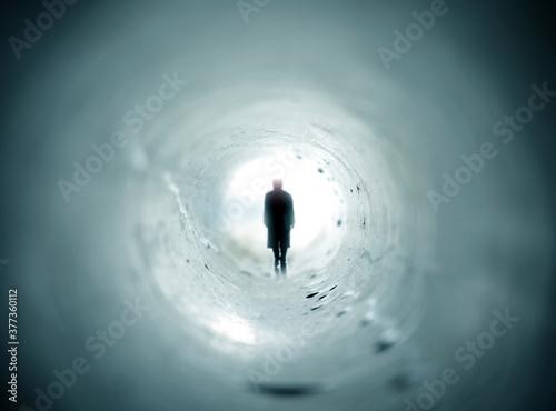 Fotomural Near Death Experience - Expérience de mort imminente