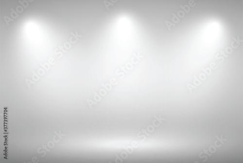Grey gradient background Wallpaper Mural