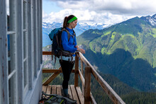 Hiking Scenes In The Beautiful North Cascades.