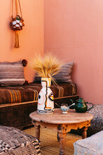 Pink Boho Corner With African ...