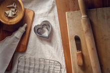 Heart Shaped Cookie Cutters An...