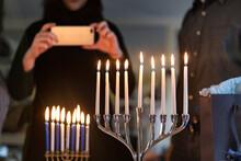 Hanukkah: Teen Girl Takes A Ph...