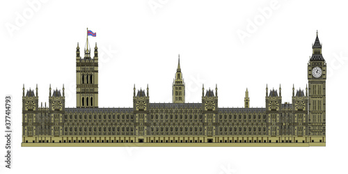 Fotografie, Obraz houses of parliament in london