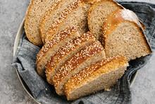Sliced Whole Wheat Italian Bread