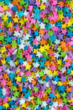 Colorful Star Shaped Cake Spri...