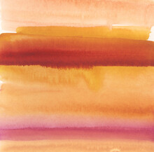Abstract Watercolor Painting