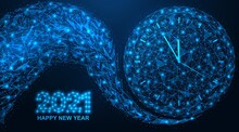 Happy New Year 2021. A Wave Of...