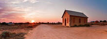An Isolated Chapel Beside A Di...
