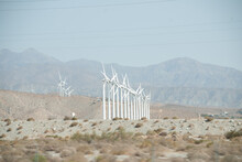 Palm Springs California Wind T...