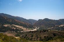 Freeway Through The Santa Ynez Mountains