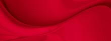 Black Red Satin Dark Fabric Te...