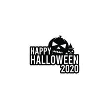 Vector Illustration Of Halloween Day Tricks Or Treats. October 31st. Black Color Vector