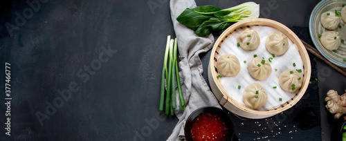 Photographie Chinese steamed buns