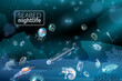 Seabed Cartoon Background