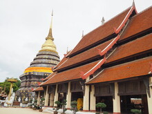 Wat Phra That Lampang Luang Is An Important Ancient Site Of The Province